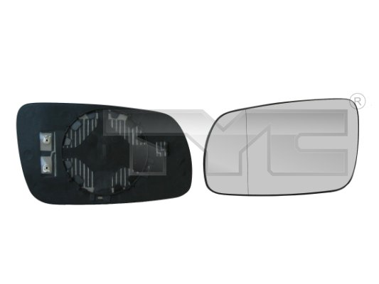 Vitre-miroir, unité de vitreaux - TCE - 99-332-0014-1