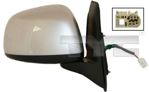Rétroviseur extérieur - TYC - 335-0014