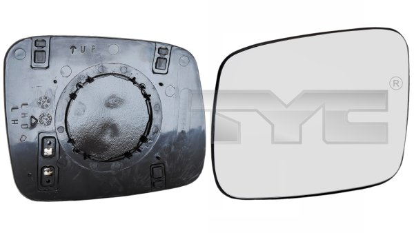 Vitre-miroir, unité de vitreaux - TYC - 337-0088-1