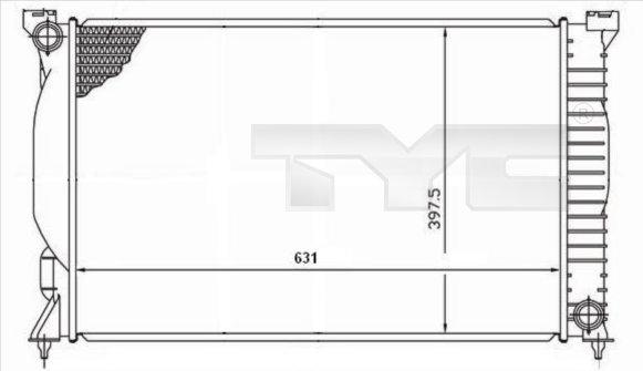 Radiateur, refroidissement du moteur - TCE - 99-702-0019