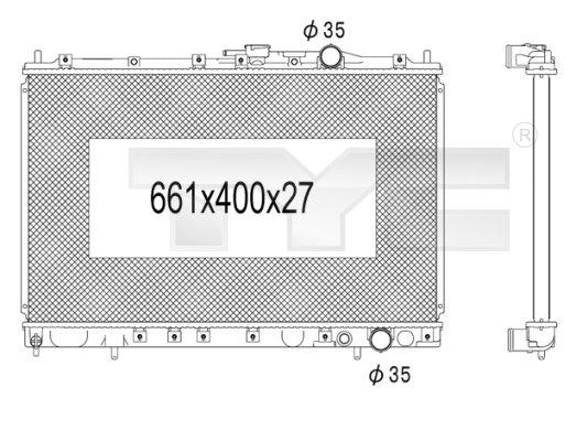Radiateur, refroidissement du moteur - TCE - 99-723-1014
