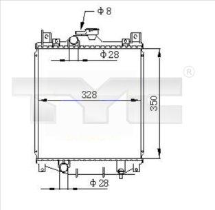 Radiateur, refroidissement du moteur - TCE - 99-735-0031