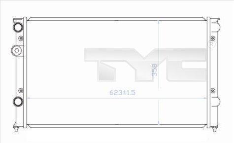 Radiateur, refroidissement du moteur - TCE - 99-737-0030