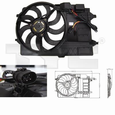 Ventilateur, refroidissement du moteur - TCE - 99-803-0002