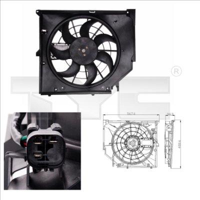 Ventilateur, refroidissement du moteur - TYC - 803-0005