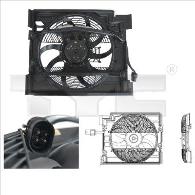 Ventilateur, refroidissement du moteur - TYC - 803-0006