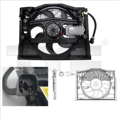 Ventilateur, refroidissement du moteur - TYC - 803-0007