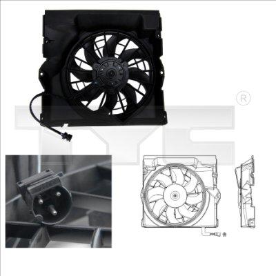 Ventilateur, refroidissement du moteur - TYC - 803-0009