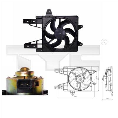 Ventilateur, refroidissement du moteur - TCE - 99-809-0013