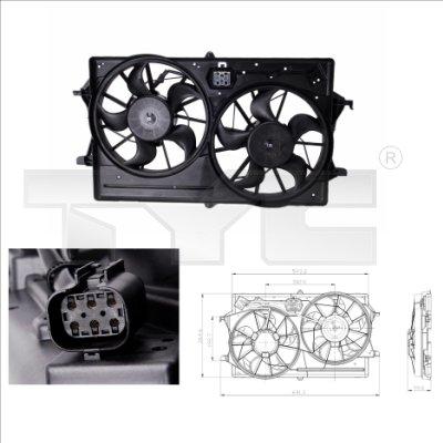 Ventilateur, refroidissement du moteur - TCE - 99-810-0016