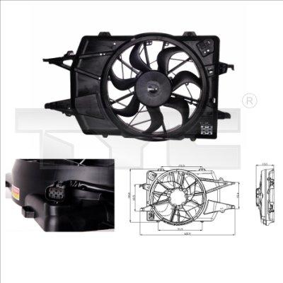 Ventilateur, refroidissement du moteur - TCE - 99-810-0018