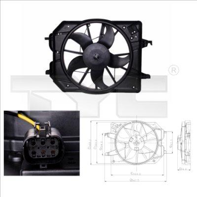 Ventilateur, refroidissement du moteur - TCE - 99-810-0020