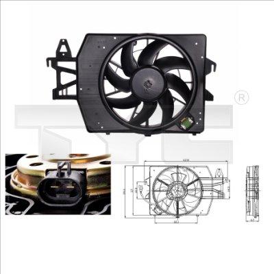 Ventilateur, refroidissement du moteur - TCE - 99-810-0034