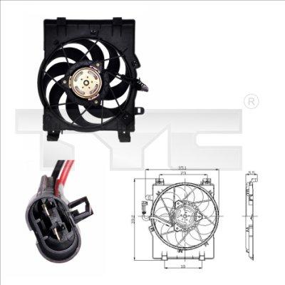 Ventilateur, refroidissement du moteur - TCE - 99-825-0001