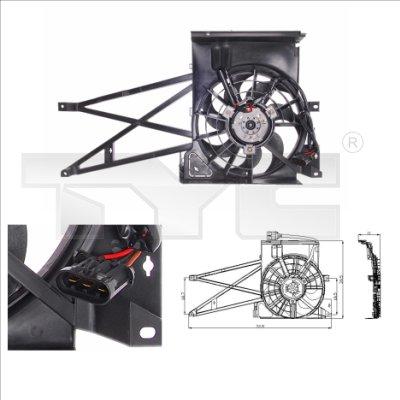 Ventilateur, refroidissement du moteur - TCE - 99-825-0009