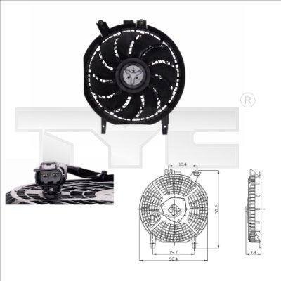 Ventilateur, refroidissement du moteur - TCE - 99-836-0004