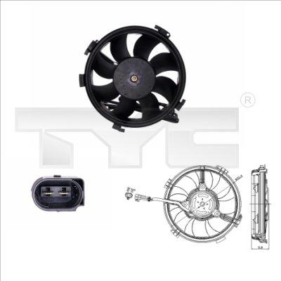 Ventilateur, refroidissement du moteur - TCE - 99-837-0015