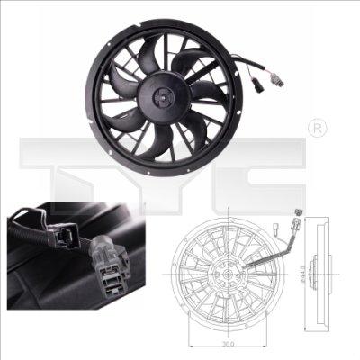 Ventilateur, refroidissement du moteur - TCE - 99-838-0002