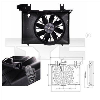 Ventilateur, refroidissement du moteur - TCE - 99-838-0005