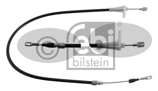 Tirette à câble, frein de stationnement - FEBI BILSTEIN - 01666