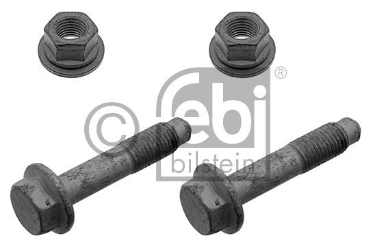 Kit de vis, jambe élastique - Boîtir du roulement de roue - FEBI BILSTEIN - 01801