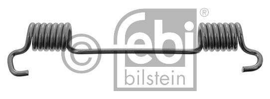 Ressort, mâchoire de frein - FEBI BILSTEIN - 02104