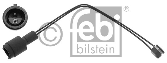 Contact d'avertissement, usure des garnitures de frein - FEBI BILSTEIN - 02398