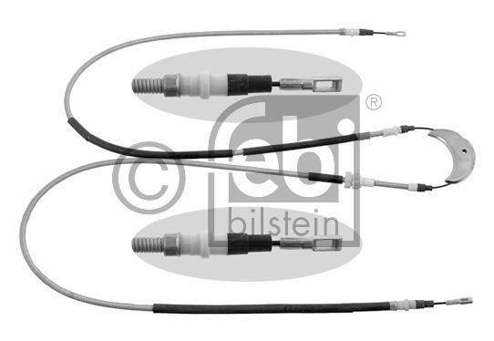 Tirette à câble, frein de stationnement - FEBI BILSTEIN - 06263