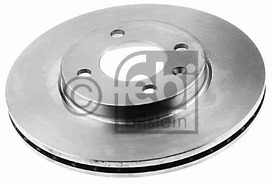 Disque de frein - FEBI BILSTEIN - 06512