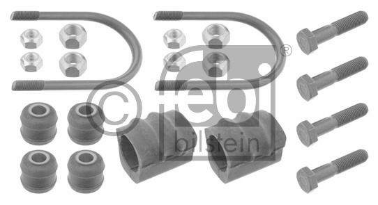 Kit de réparation, suspension du stabilisateur - FEBI BILSTEIN - 06695