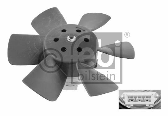 Ventilateur, refroidissement du moteur - FEBI BILSTEIN - 06989