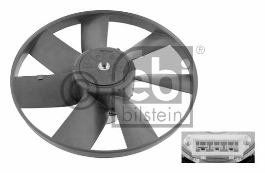 Ventilateur, refroidissement du moteur - FEBI BILSTEIN - 06993