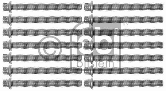 Jeu de boulons de culasse de cylindre - FEBI BILSTEIN - 08245