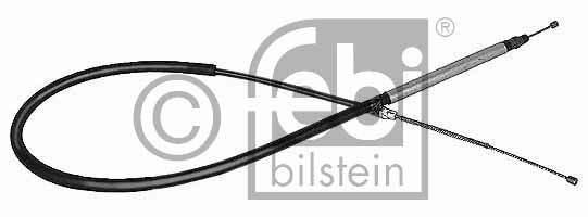 Tirette à câble, frein de stationnement - FEBI BILSTEIN - 09049