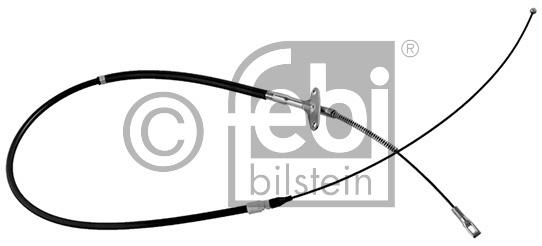 Tirette à câble, frein de stationnement - FEBI BILSTEIN - 09499