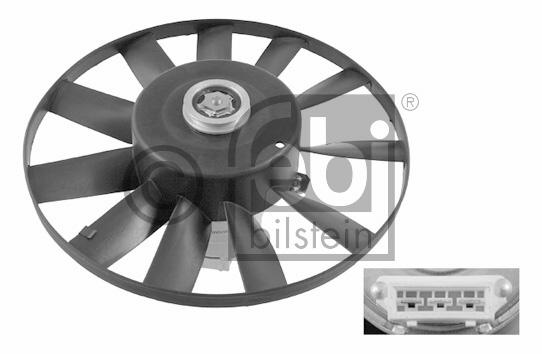 Ventilateur, refroidissement du moteur - FEBI BILSTEIN - 09809