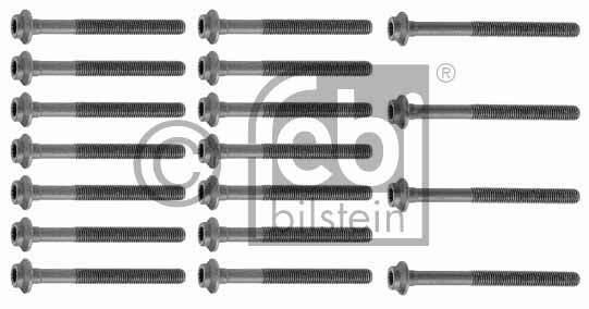 Jeu de boulons de culasse de cylindre - FEBI BILSTEIN - 10235