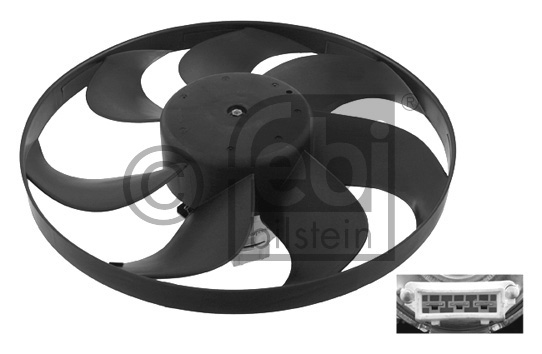 Ventilateur, refroidissement du moteur - FEBI BILSTEIN - 10279