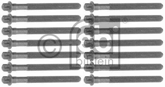Jeu de boulons de culasse de cylindre - FEBI BILSTEIN - 12033