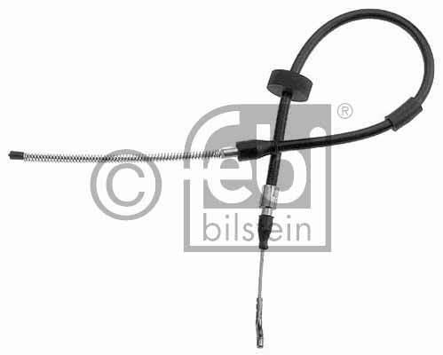 Tirette à câble, frein de stationnement - FEBI BILSTEIN - 14102