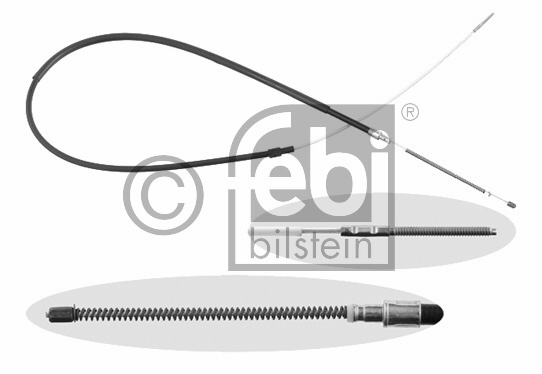 Tirette à câble, frein de stationnement - FEBI BILSTEIN - 14200