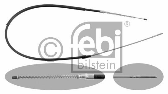 Tirette à câble, frein de stationnement - FEBI BILSTEIN - 14210