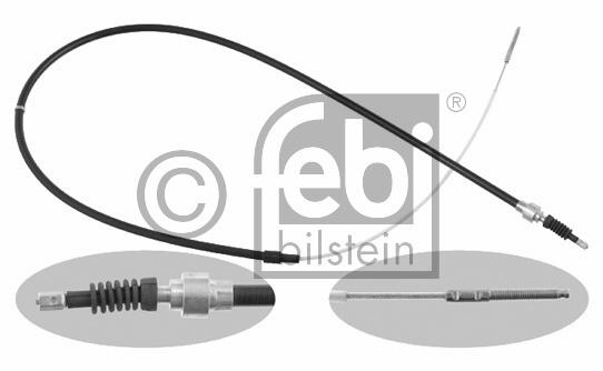 Tirette à câble, frein de stationnement - FEBI BILSTEIN - 14234
