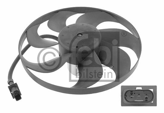 Ventilateur, refroidissement du moteur - FEBI BILSTEIN - 14742