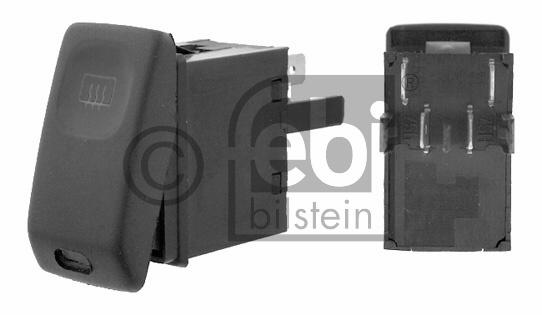 Interrupteur, chauffage de vitre arrière - FEBI BILSTEIN - 15628