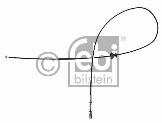 Tirette de capot moteur - FEBI BILSTEIN - 15871