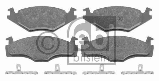 Kit de plaquettes de frein, frein à disque - FEBI BILSTEIN - 16005