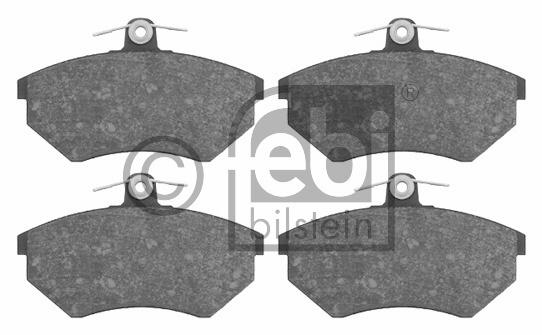 Kit de plaquettes de frein, frein à disque - FEBI BILSTEIN - 16008
