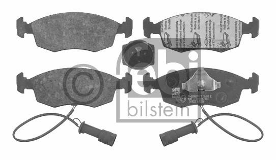 Kit de plaquettes de frein, frein à disque - FEBI BILSTEIN - 16022