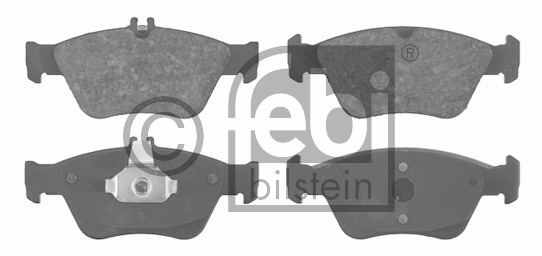 Kit de plaquettes de frein, frein à disque - FEBI BILSTEIN - 16027